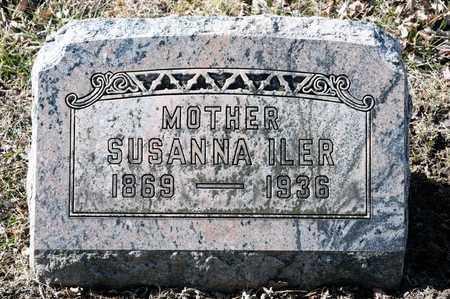 ILER, SUSANNA - Richland County, Ohio | SUSANNA ILER - Ohio Gravestone Photos