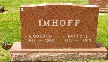 IMHOFF, BETTY H - Richland County, Ohio | BETTY H IMHOFF - Ohio Gravestone Photos