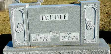 IMHOFF, ETHEL - Richland County, Ohio | ETHEL IMHOFF - Ohio Gravestone Photos