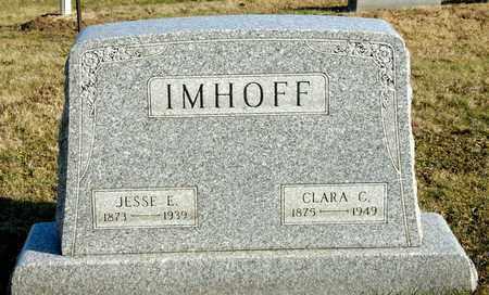 IMHOFF, JESSE E - Richland County, Ohio | JESSE E IMHOFF - Ohio Gravestone Photos