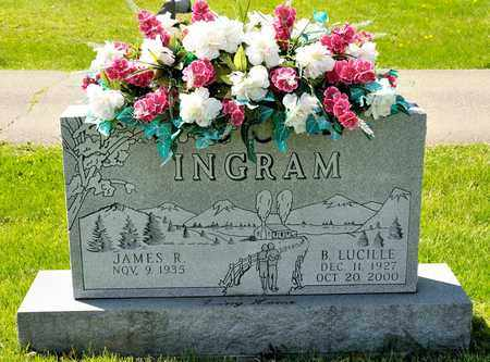 INGRAM, B LUCILLE - Richland County, Ohio | B LUCILLE INGRAM - Ohio Gravestone Photos
