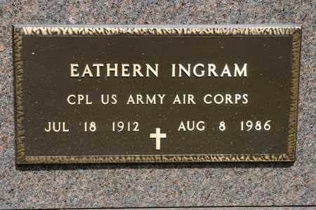 INGRAM, EATHERN - Richland County, Ohio | EATHERN INGRAM - Ohio Gravestone Photos