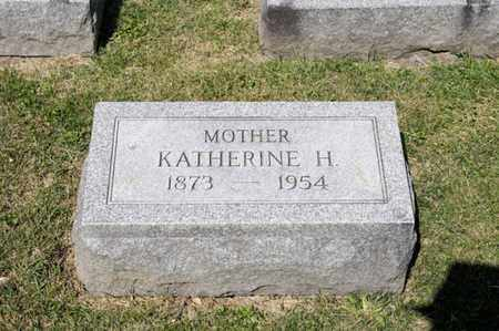 INSCHO, KATHERINE H - Richland County, Ohio | KATHERINE H INSCHO - Ohio Gravestone Photos