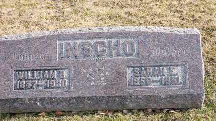 INSCHO, SARAH E - Richland County, Ohio | SARAH E INSCHO - Ohio Gravestone Photos