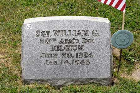 IRWIN, WILLIAM G - Richland County, Ohio | WILLIAM G IRWIN - Ohio Gravestone Photos