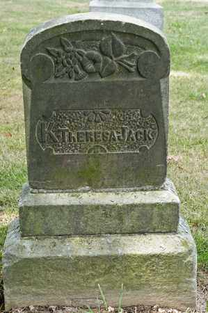 JACK, KATHLEEN THERESA - Richland County, Ohio | KATHLEEN THERESA JACK - Ohio Gravestone Photos
