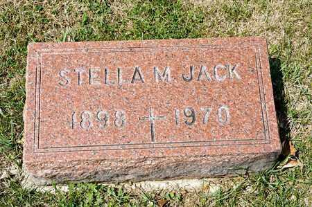 JACK, STELLA M - Richland County, Ohio | STELLA M JACK - Ohio Gravestone Photos