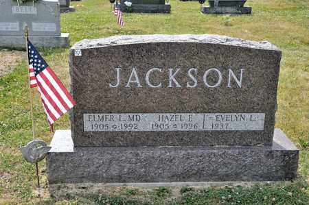 JACKSON, ELMER L - Richland County, Ohio | ELMER L JACKSON - Ohio Gravestone Photos