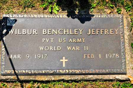 JEFFREY, WILBUR BENCHLEY - Richland County, Ohio | WILBUR BENCHLEY JEFFREY - Ohio Gravestone Photos