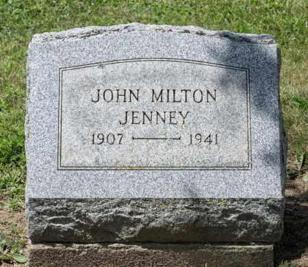 JENNEY, JOHN MILTON - Richland County, Ohio | JOHN MILTON JENNEY - Ohio Gravestone Photos