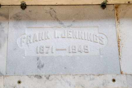 JENNINGS, FRANK I - Richland County, Ohio | FRANK I JENNINGS - Ohio Gravestone Photos