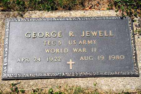 JEWELL, GEORGE R - Richland County, Ohio | GEORGE R JEWELL - Ohio Gravestone Photos