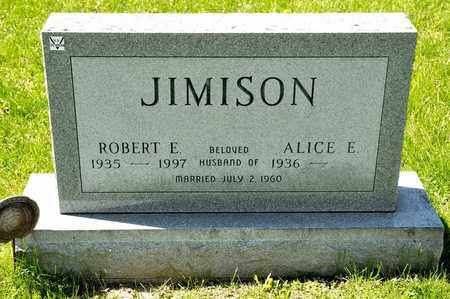 JIMISON, ROBERT E - Richland County, Ohio | ROBERT E JIMISON - Ohio Gravestone Photos