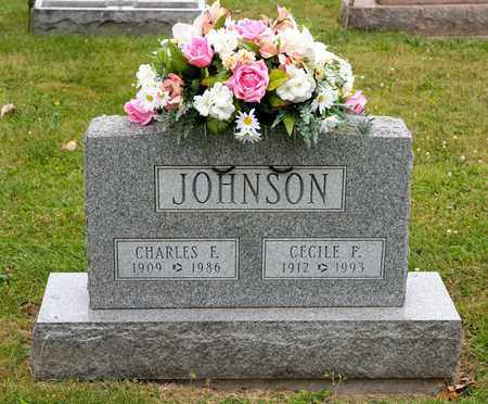JOHNSON, CECILE F - Richland County, Ohio | CECILE F JOHNSON - Ohio Gravestone Photos