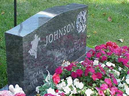 JOHNSON, CARL W. - Richland County, Ohio | CARL W. JOHNSON - Ohio Gravestone Photos