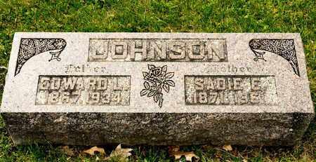 JOHNSON, SADIE E - Richland County, Ohio | SADIE E JOHNSON - Ohio Gravestone Photos
