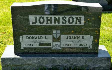 JOHNSON, JOANN E - Richland County, Ohio | JOANN E JOHNSON - Ohio Gravestone Photos