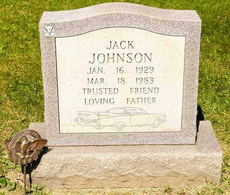 JOHNSON, JACK - Richland County, Ohio | JACK JOHNSON - Ohio Gravestone Photos