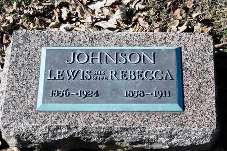 JOHNSON, LEWIS - Richland County, Ohio | LEWIS JOHNSON - Ohio Gravestone Photos