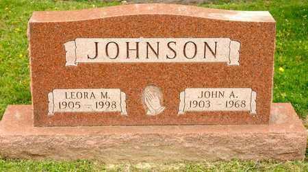 JOHNSON, JOHN A - Richland County, Ohio | JOHN A JOHNSON - Ohio Gravestone Photos