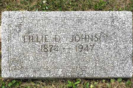 JOHNSON, LILLIE D - Richland County, Ohio | LILLIE D JOHNSON - Ohio Gravestone Photos