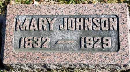 JOHNSON, MARY - Richland County, Ohio | MARY JOHNSON - Ohio Gravestone Photos