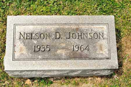 JOHNSON, NELSON D - Richland County, Ohio | NELSON D JOHNSON - Ohio Gravestone Photos