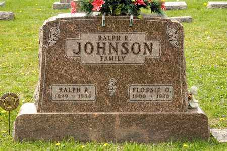 JOHNSON, RALPH R - Richland County, Ohio | RALPH R JOHNSON - Ohio Gravestone Photos