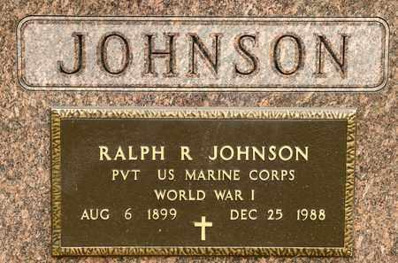 JOHNSON, RALPH R - Richland County, Ohio | RALPH R JOHNSON - Ohio Gravestone Photos