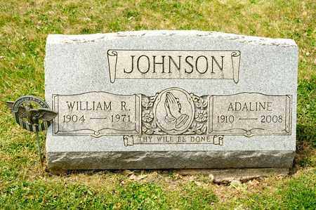 JOHNSON, WILLIAM R - Richland County, Ohio | WILLIAM R JOHNSON - Ohio Gravestone Photos