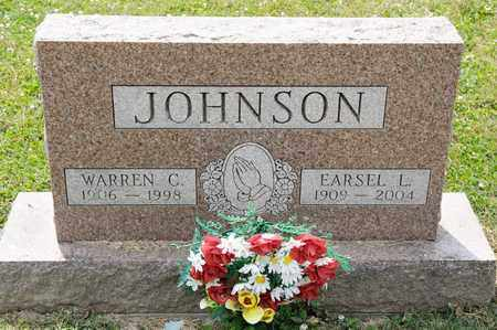 JOHNSON, EARSEL L - Richland County, Ohio | EARSEL L JOHNSON - Ohio Gravestone Photos
