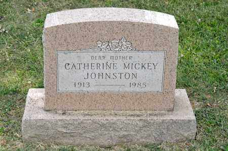 MICKEY JOHNSTON, CATHERINE - Richland County, Ohio | CATHERINE MICKEY JOHNSTON - Ohio Gravestone Photos