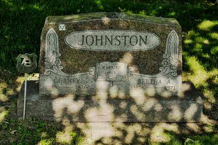 JOHNSTON, GURNEY - Richland County, Ohio | GURNEY JOHNSTON - Ohio Gravestone Photos