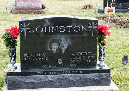 JOHNSTON, ROBERT L - Richland County, Ohio | ROBERT L JOHNSTON - Ohio Gravestone Photos