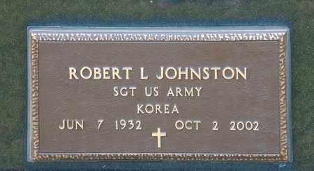 JOHNSTON, ROBERT L - Richland County, Ohio | ROBERT L JOHNSTON - Ohio Gravestone Photos