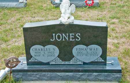 JONES, CHARLES V - Richland County, Ohio | CHARLES V JONES - Ohio Gravestone Photos