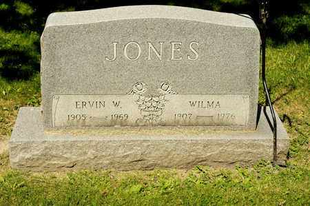 JONES, ERVIN W - Richland County, Ohio | ERVIN W JONES - Ohio Gravestone Photos
