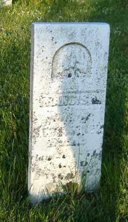 JONES, FRANCIS LAYTON - Richland County, Ohio   FRANCIS LAYTON JONES - Ohio Gravestone Photos