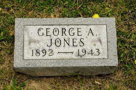 JONES, GEORGE A - Richland County, Ohio | GEORGE A JONES - Ohio Gravestone Photos