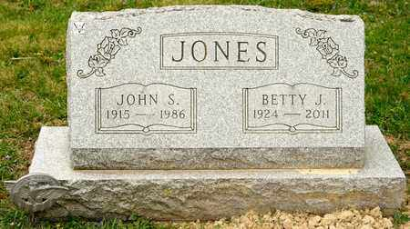 JONES, JOHN S - Richland County, Ohio | JOHN S JONES - Ohio Gravestone Photos