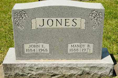 JONES, MANDY B - Richland County, Ohio | MANDY B JONES - Ohio Gravestone Photos
