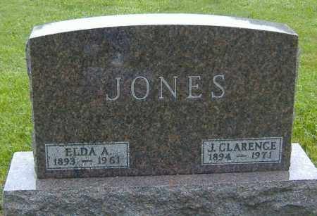 JONES, ELDA ALICE - Richland County, Ohio | ELDA ALICE JONES - Ohio Gravestone Photos