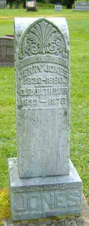 JONES, JERRY - Richland County, Ohio | JERRY JONES - Ohio Gravestone Photos