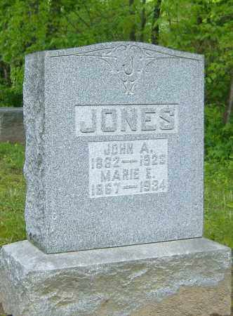 JONES, JOHN A. - Richland County, Ohio | JOHN A. JONES - Ohio Gravestone Photos