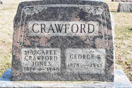 CRAWFORD JONES, MARGARET - Richland County, Ohio | MARGARET CRAWFORD JONES - Ohio Gravestone Photos