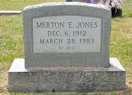 JONES, MERTON E - Richland County, Ohio | MERTON E JONES - Ohio Gravestone Photos