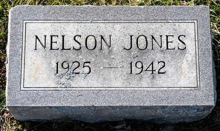 JONES, NELSON - Richland County, Ohio | NELSON JONES - Ohio Gravestone Photos