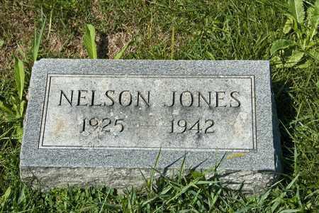 JONES, NELSON - Richland County, Ohio | NELSON JONES - Ohio Gravestone Photos