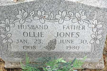 JONES, OLLIE - Richland County, Ohio | OLLIE JONES - Ohio Gravestone Photos