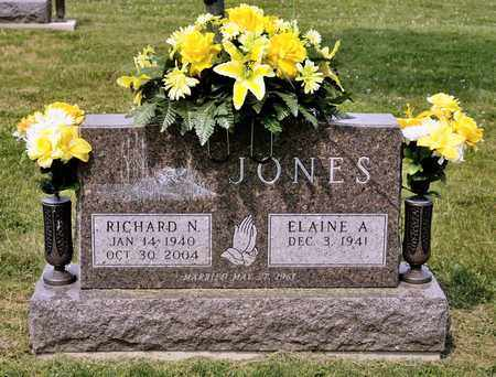 JONES, RICHARD N - Richland County, Ohio | RICHARD N JONES - Ohio Gravestone Photos